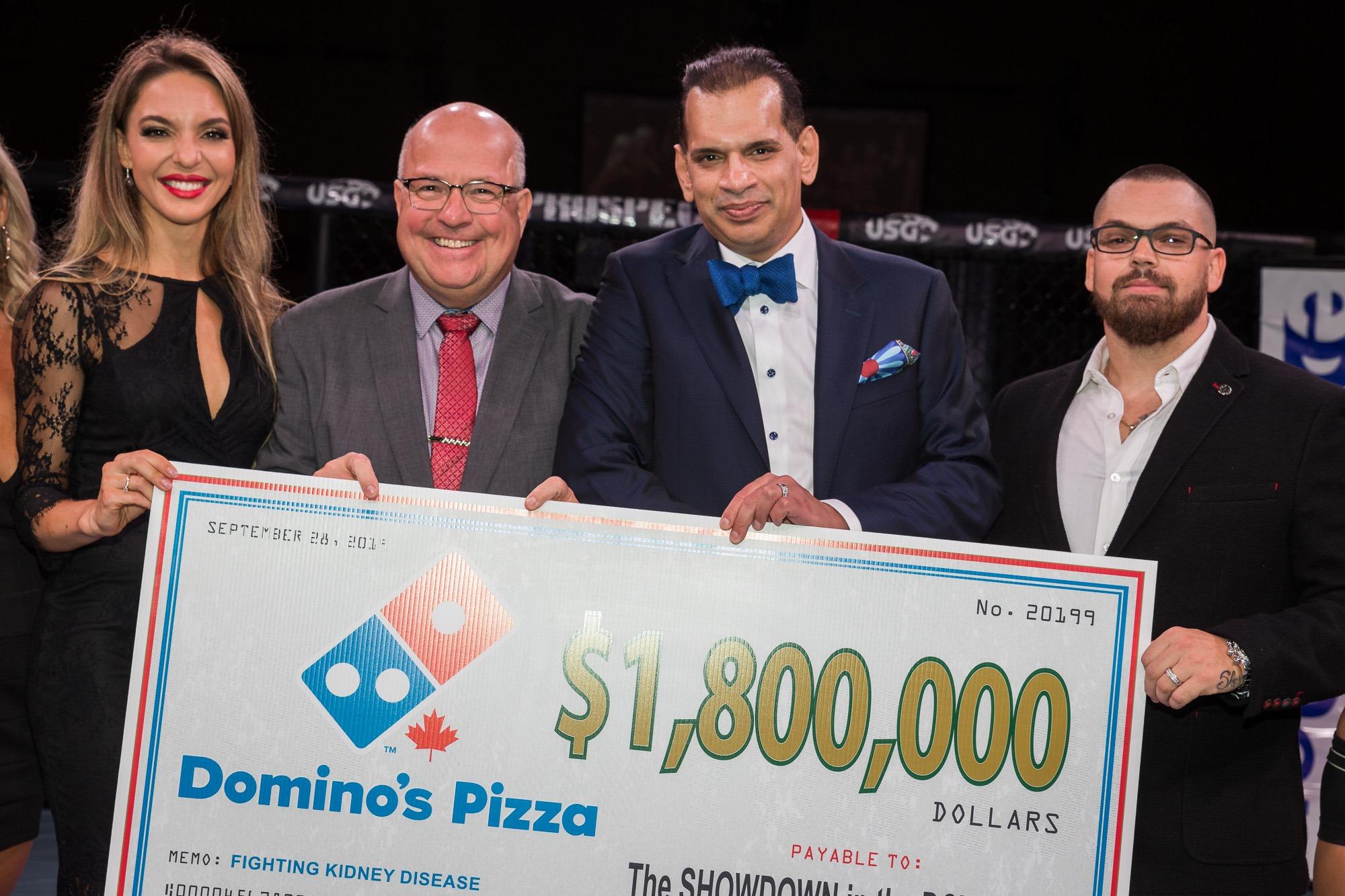 Domino's Pizza, Dr. Faisal Rehman & Jamie Champion
