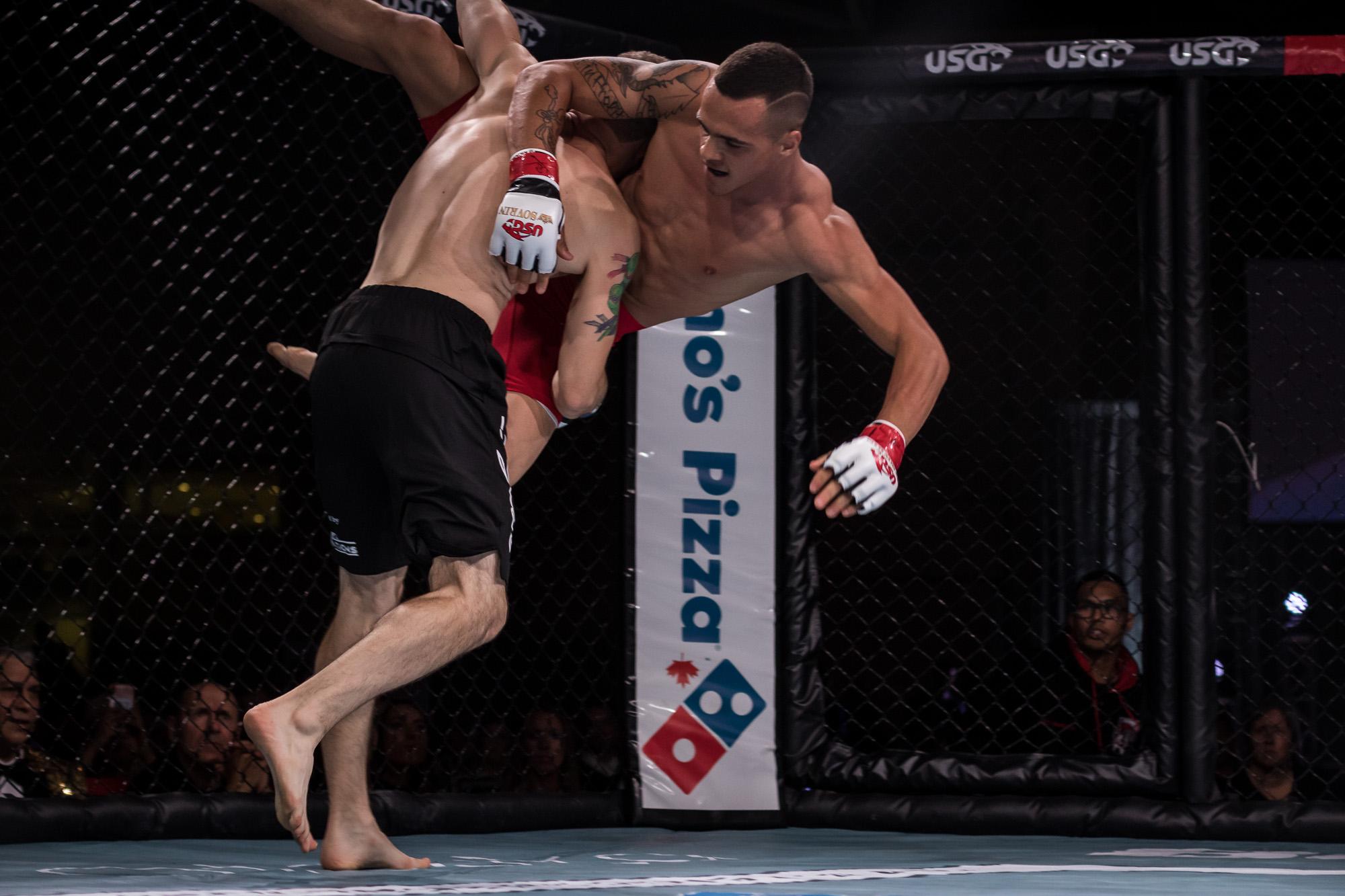 Fight #5 - Nate Ledger vs. Matt Dawson