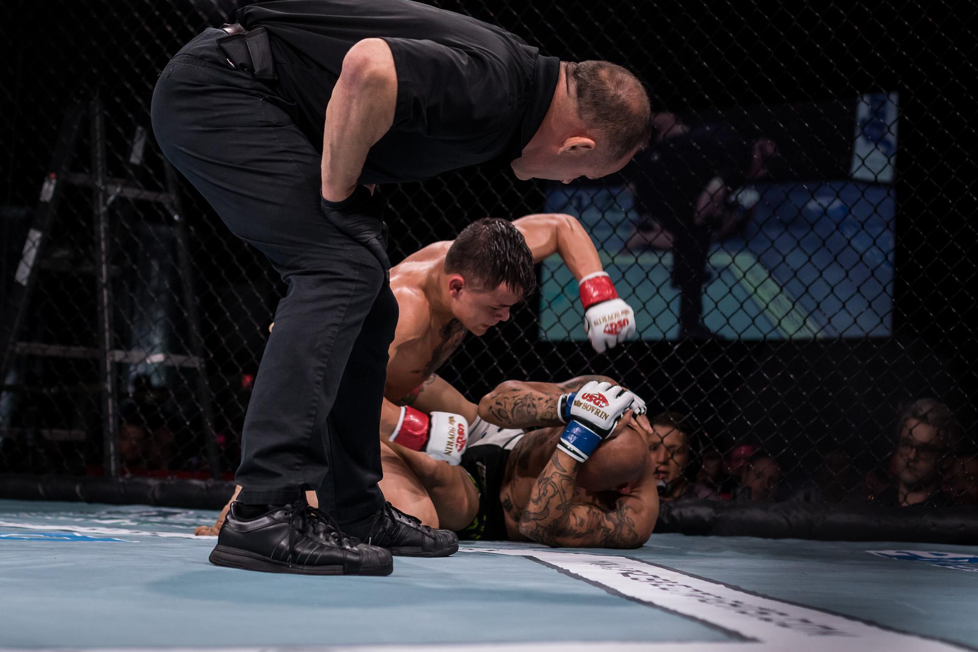 Fight #8 - Tony Laramie vs. Darren Mima