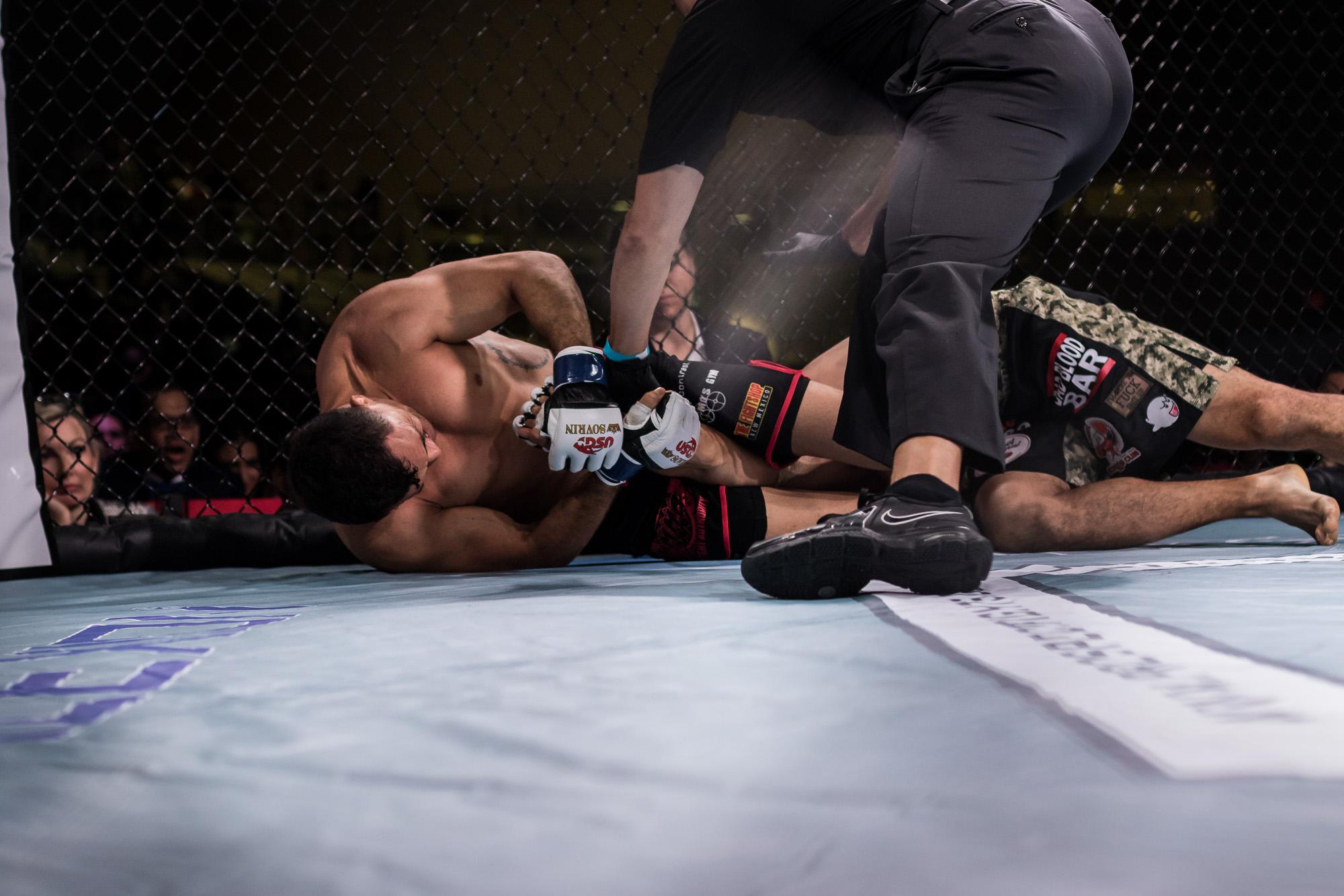 Fight #9 - Jesse Gross vs. Armando Gomes