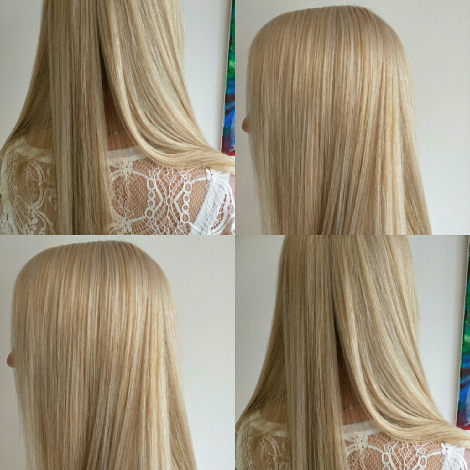 gorgeous full head Sassoon blonde we did the other day in salon.