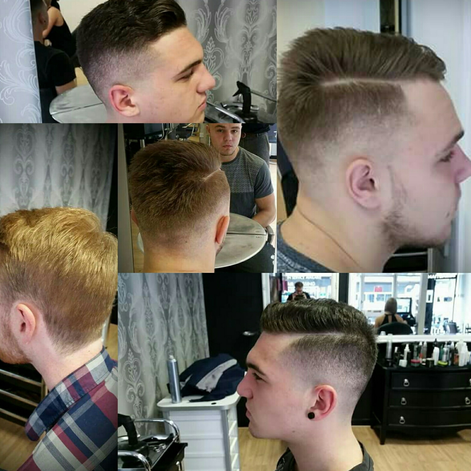 Just a small selection of Luca's great barbering work