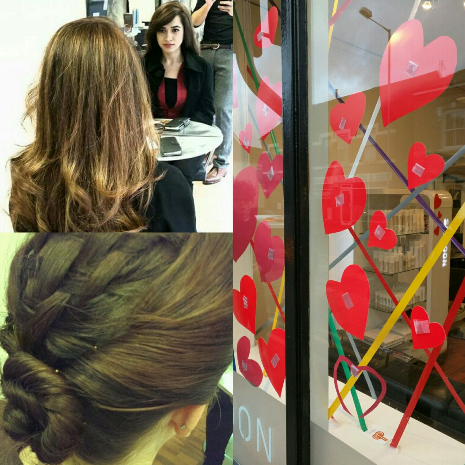 Fantastic blowdry or hair up for that special day