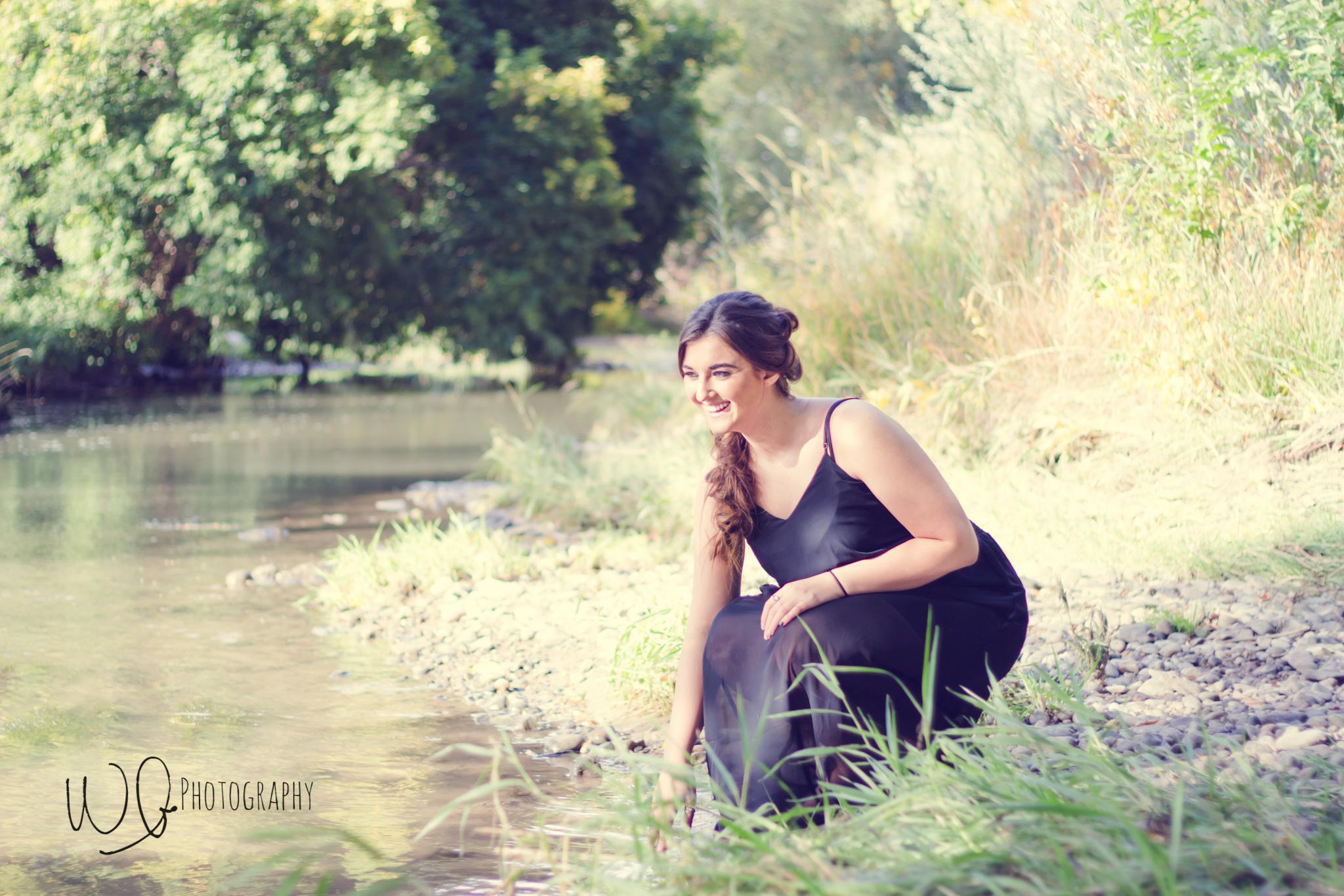 Senior pictures, Spanish Fork River