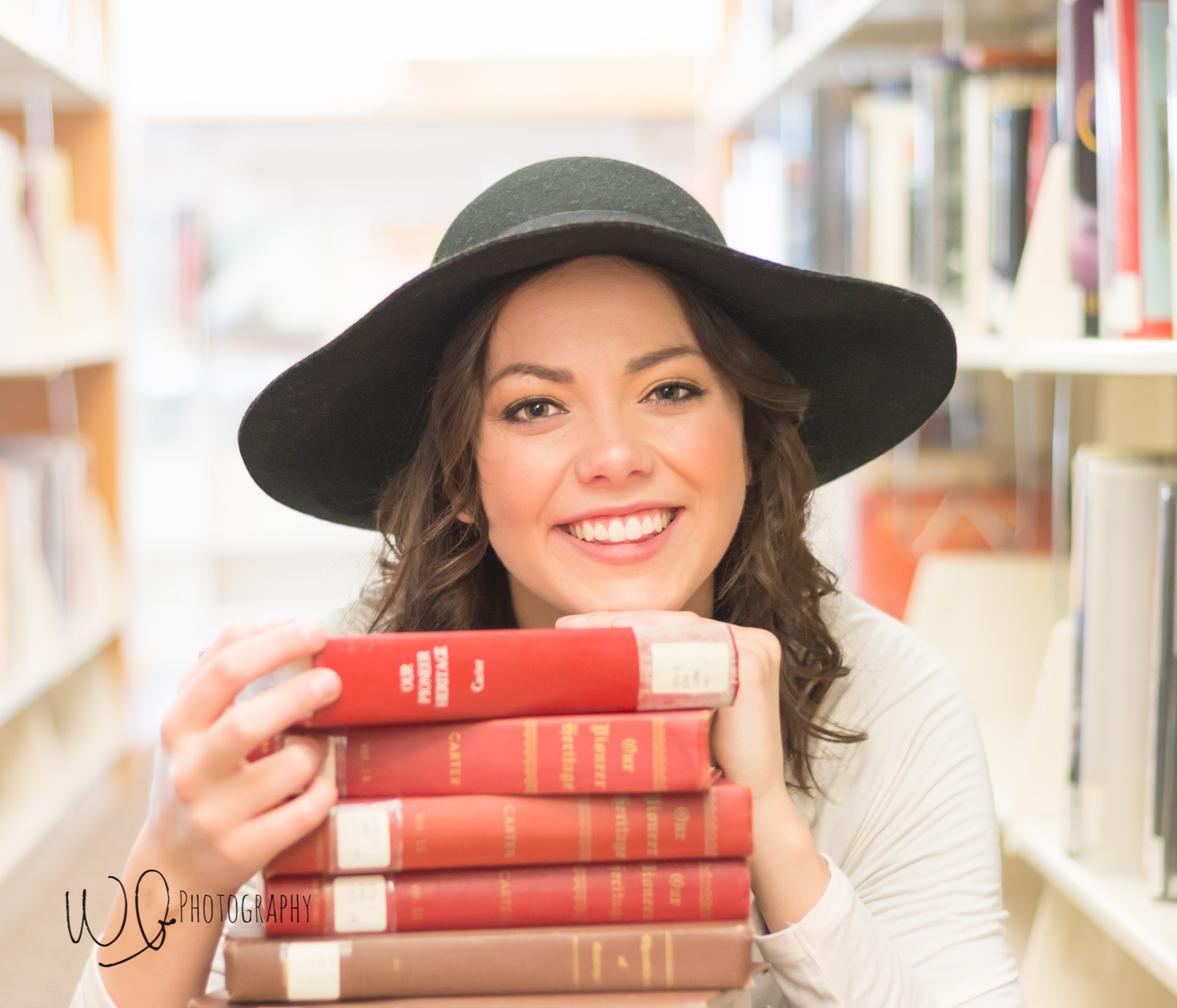 Senior pictures, Provo library