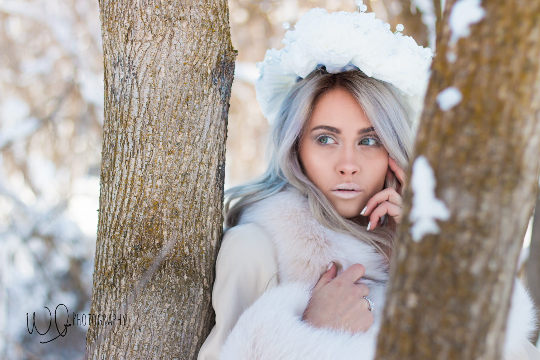 Ice queen photo shoot