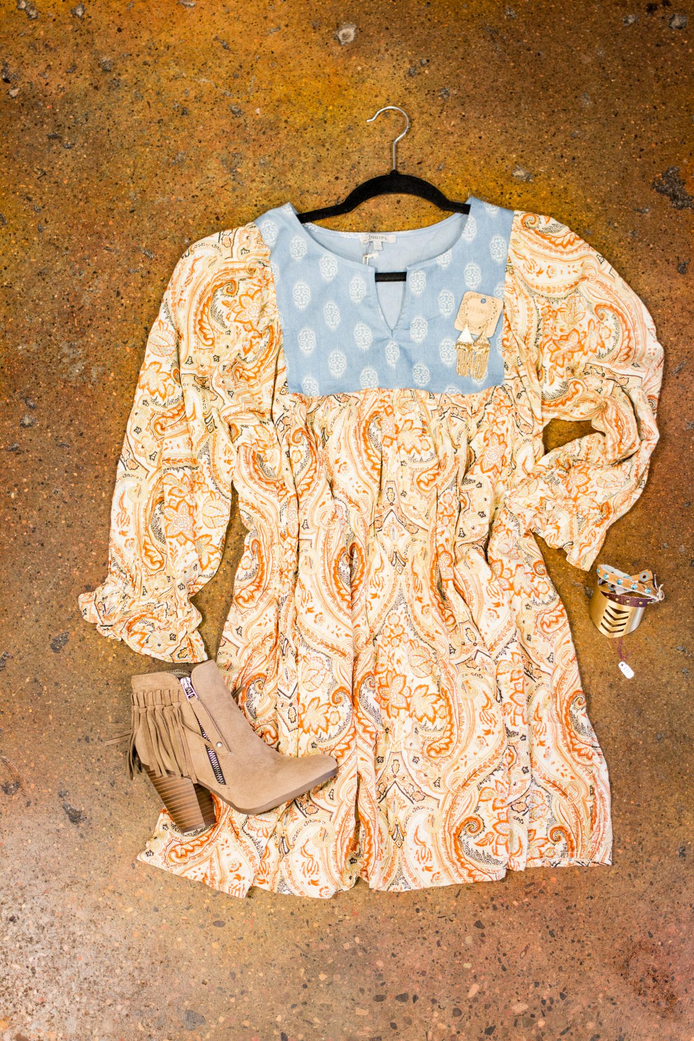 Summer dress to fit every body type. Big Bratt Boutique, Spanish Fork Utah