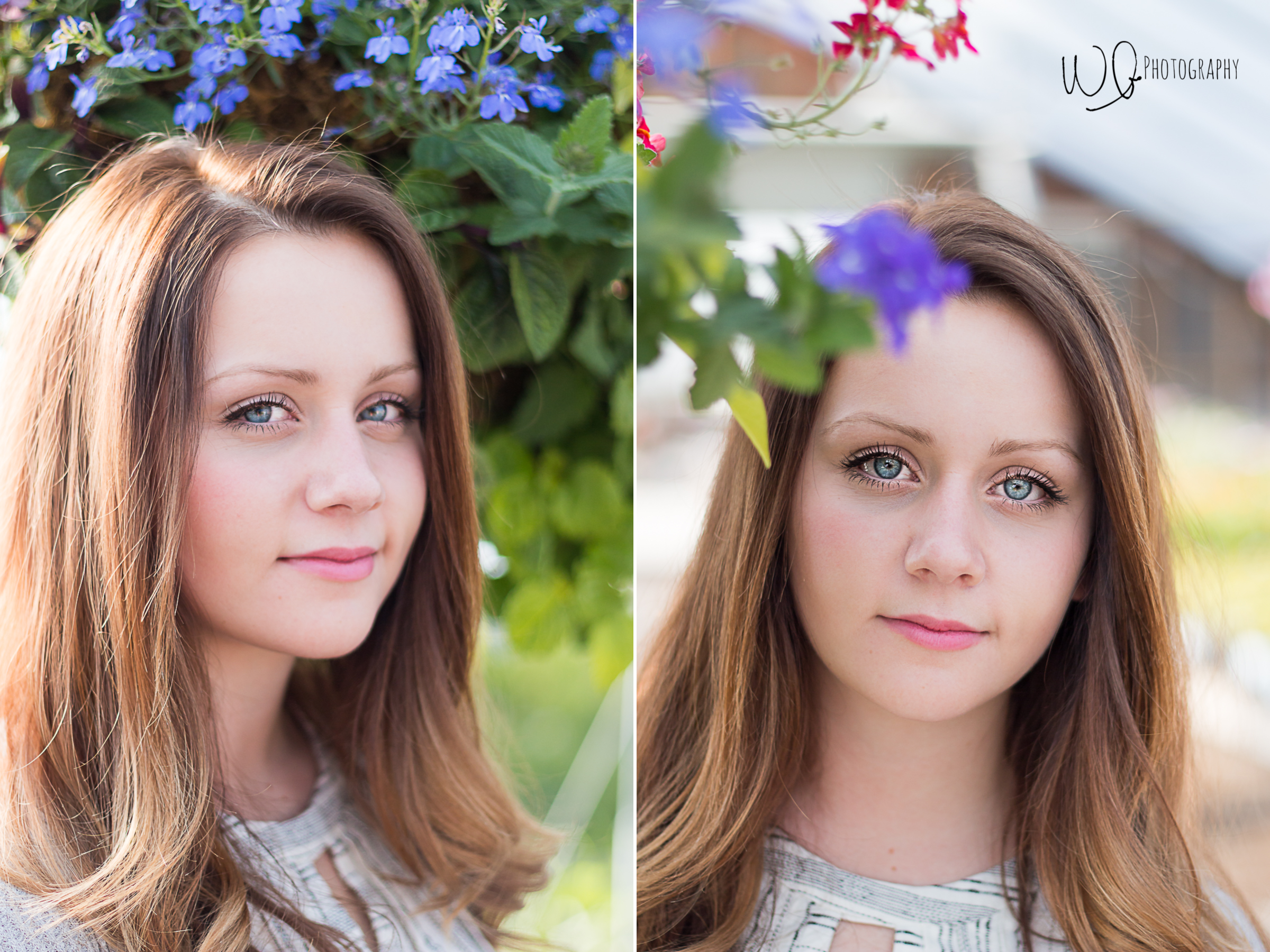 Flower senior pictures