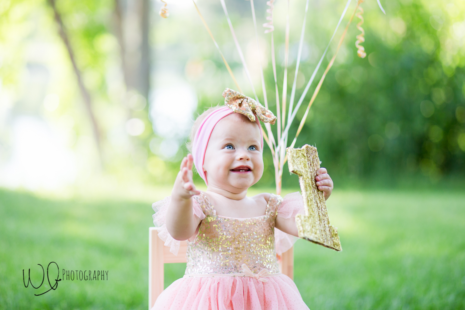 baby girl birthday pictures