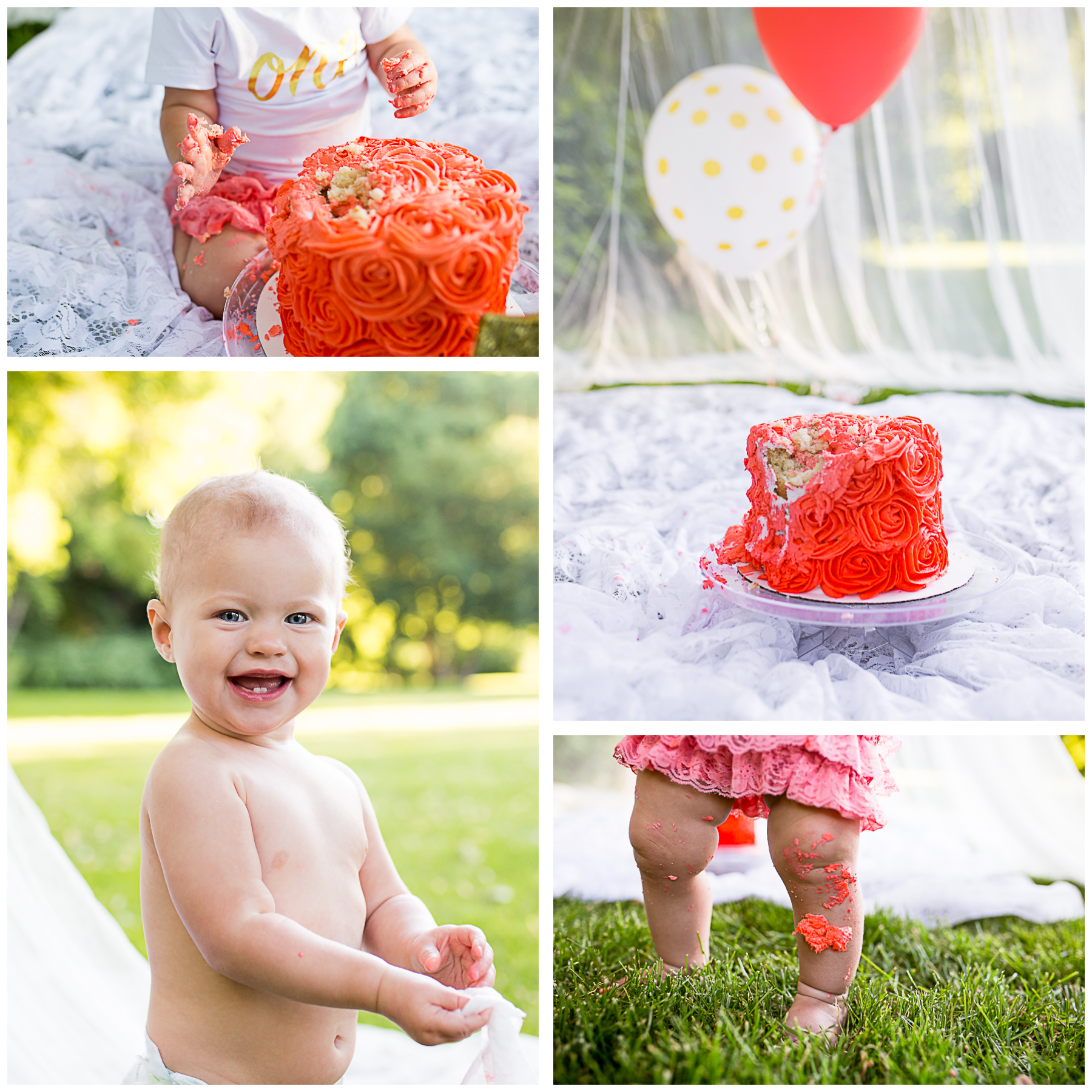 girl cake smash pictures