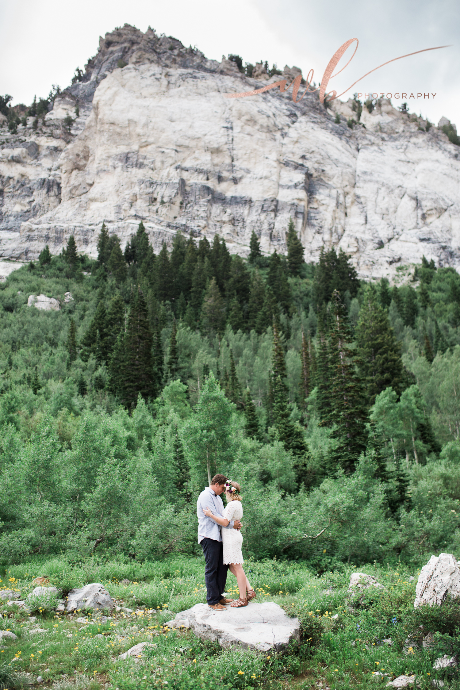 little cottonwood canyon engagements