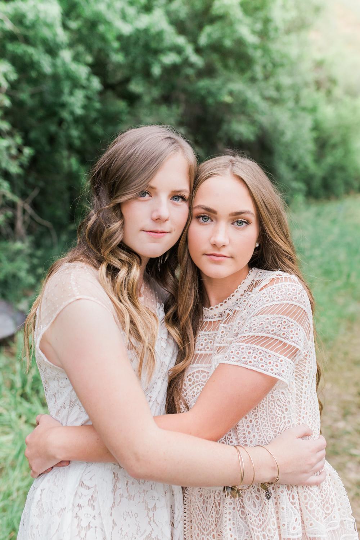 Utah sister photo shoot