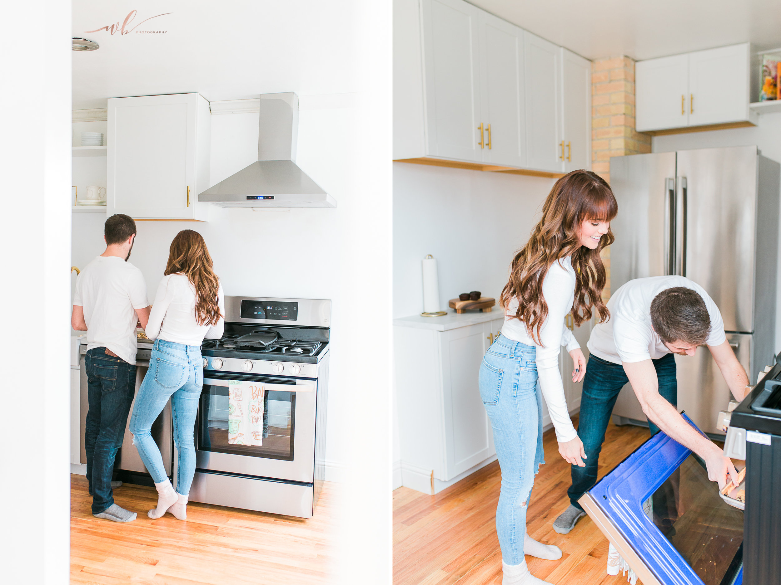 In home couples session