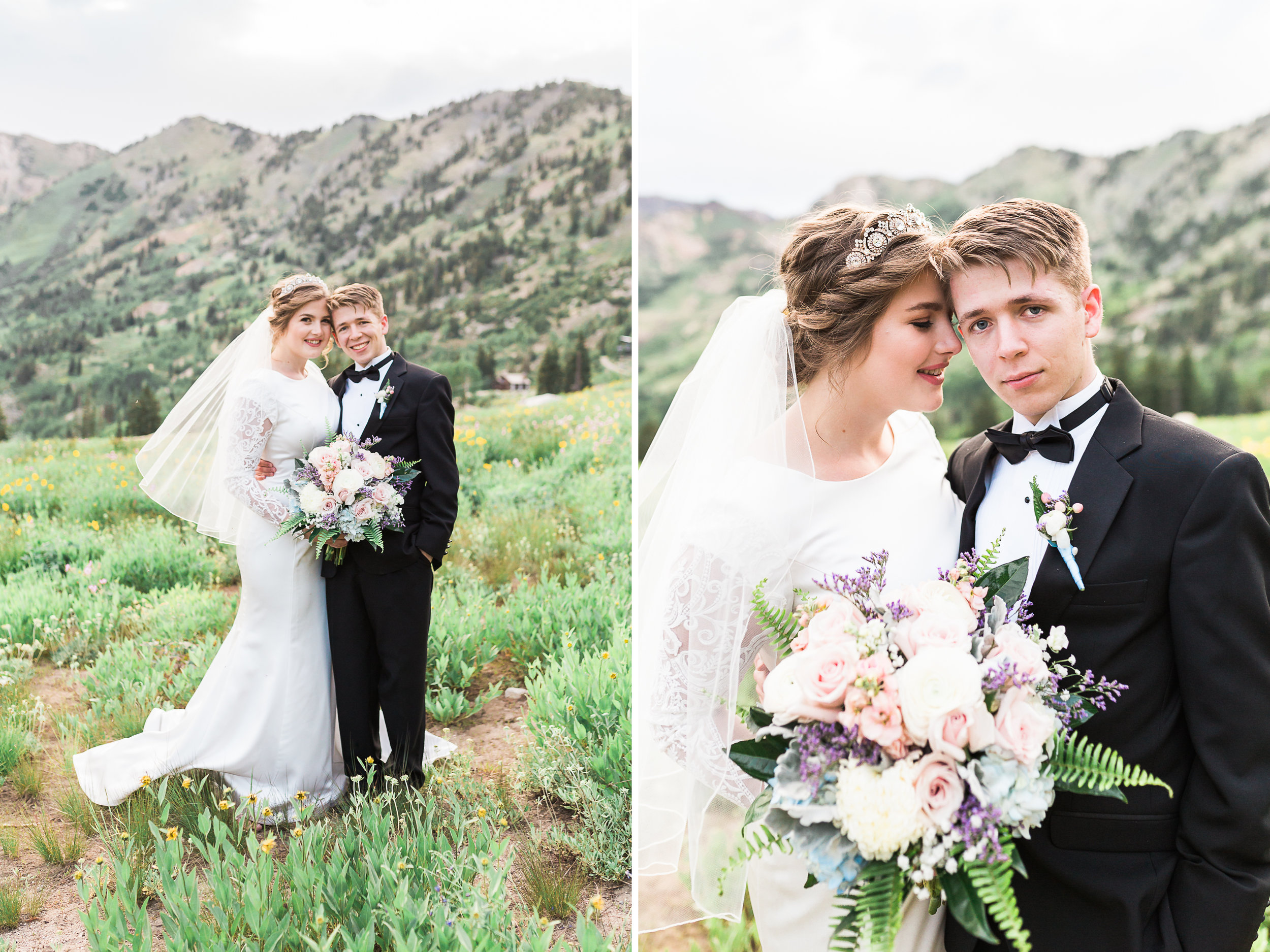 Utah bridal photos