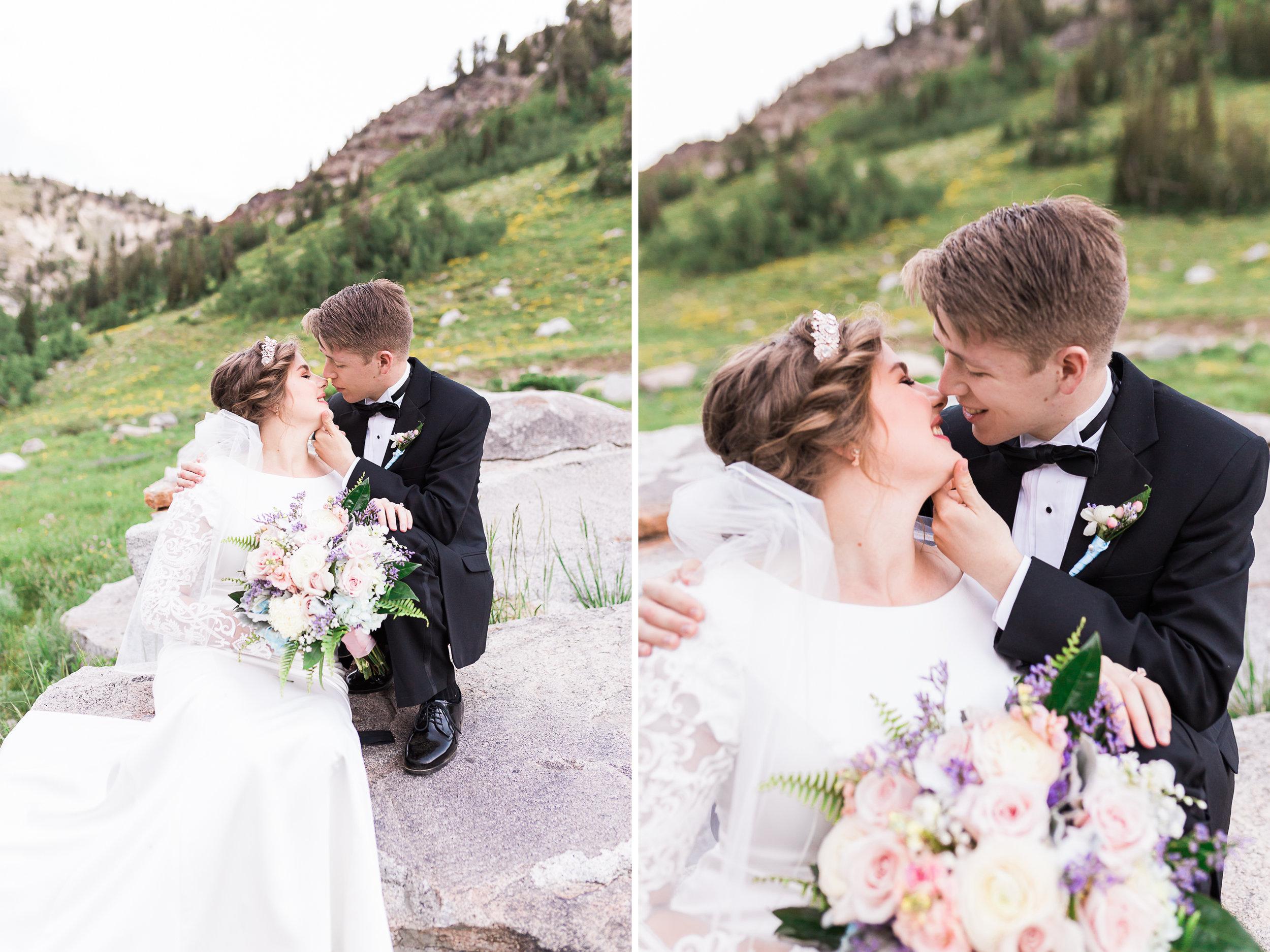 wedding bouquet Utah