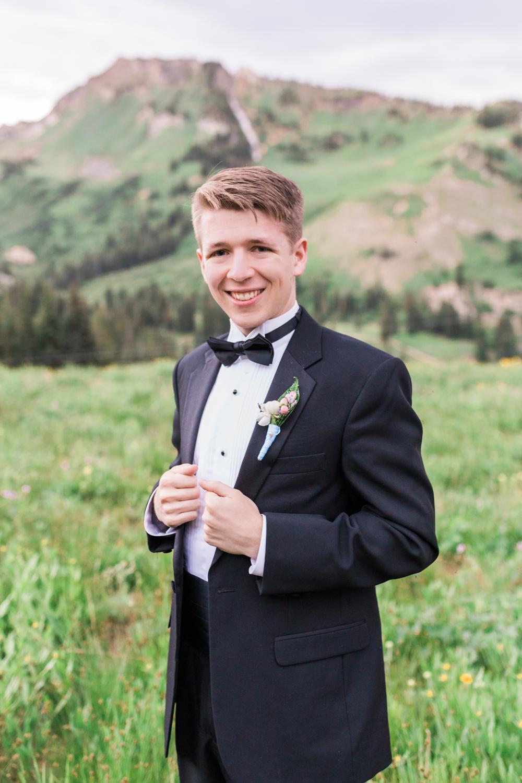 Utah groom