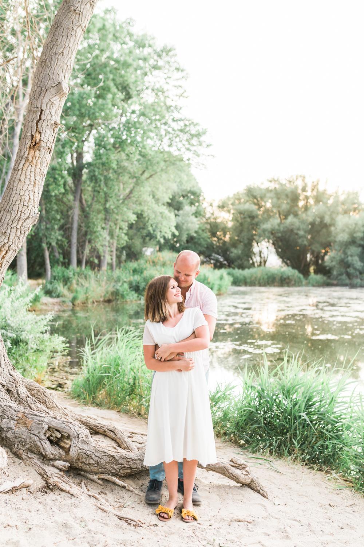 Utah outdoor engagement photos