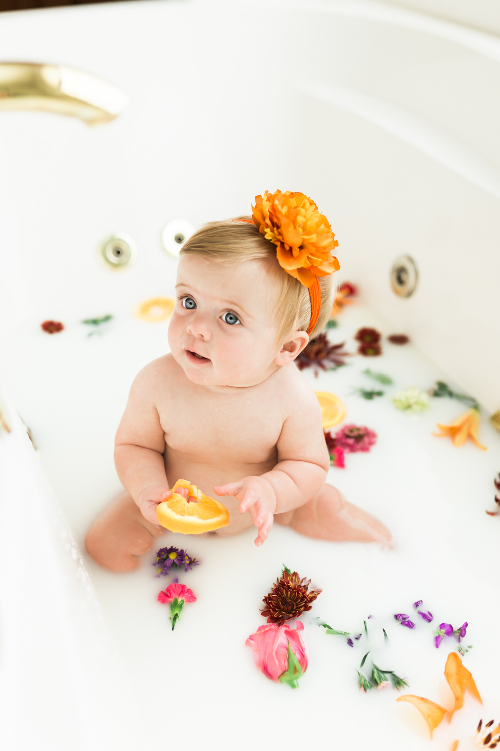 Naples Florida milk bath photographer