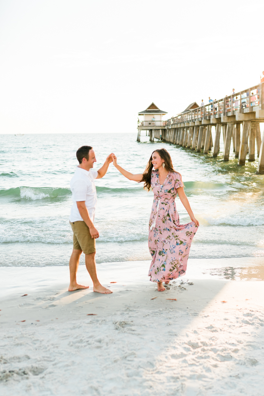 Naples Florida engagement photographer