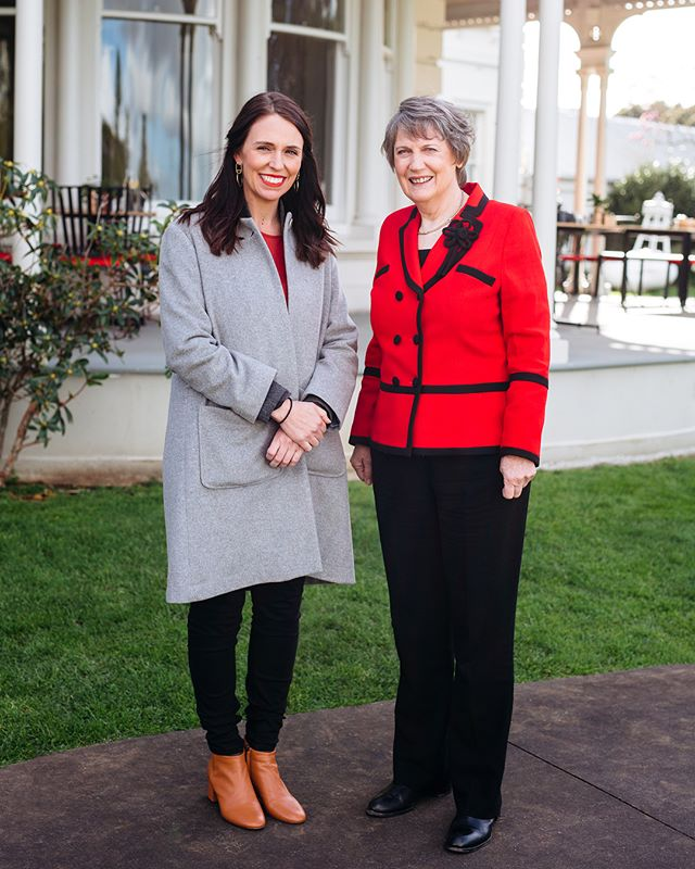 On Saturday we worked on a special project with the team from @unwomennz to photograph these amazing influential women! Projects like these are close to us here at @contentco, being a female driven team we always love getting involved with other girl bosses. Here's some snaps of our photographer Maggie with @jacindaardern & @helenclarknz ! Make sure you follow #trailblazing125 and keep an eye out for the the content rolling out in support of this amazing campaign! 💯📸👏🏻