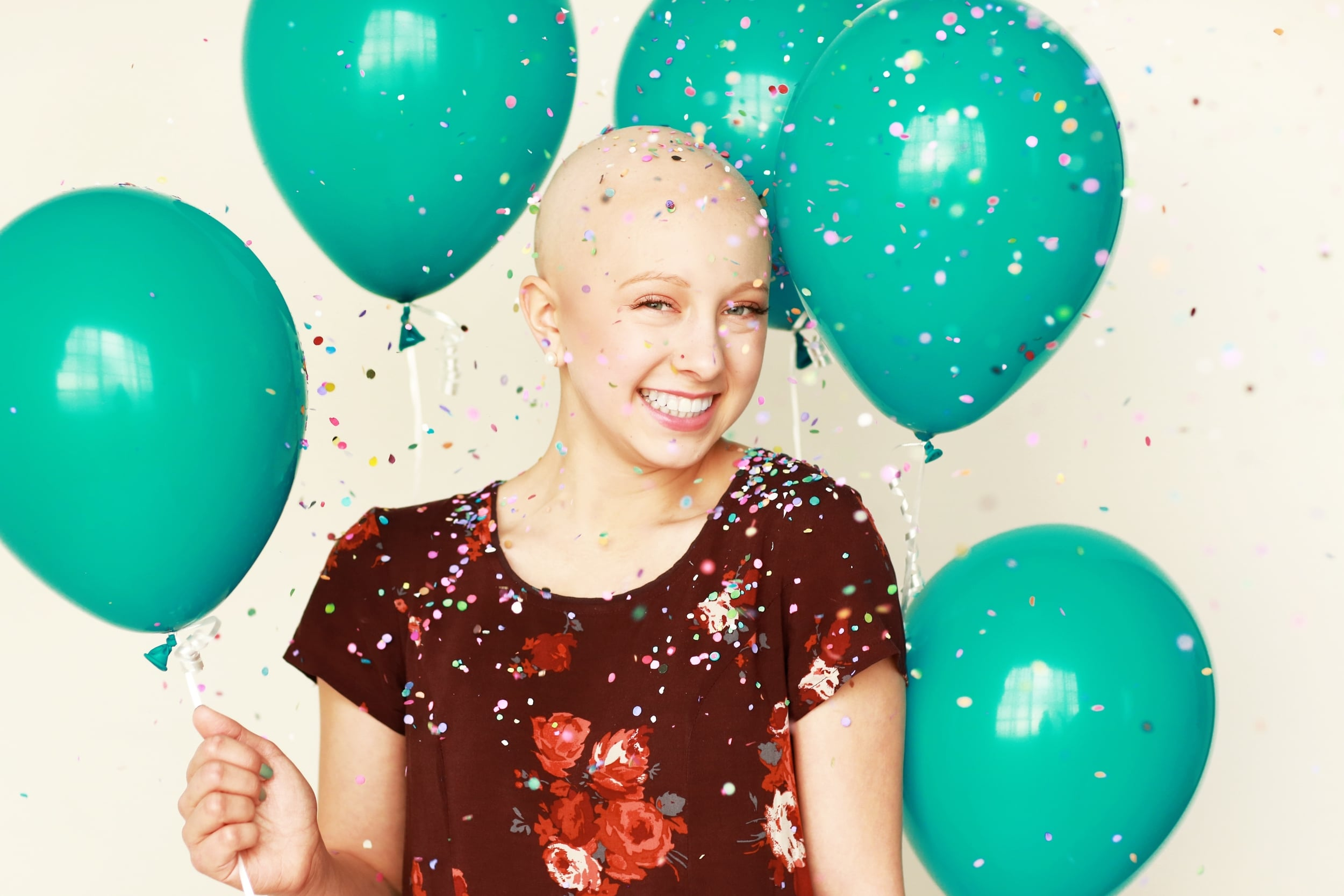Be #LizStrong and play for or support our team!  Here is Liz celebrating her last chemo!