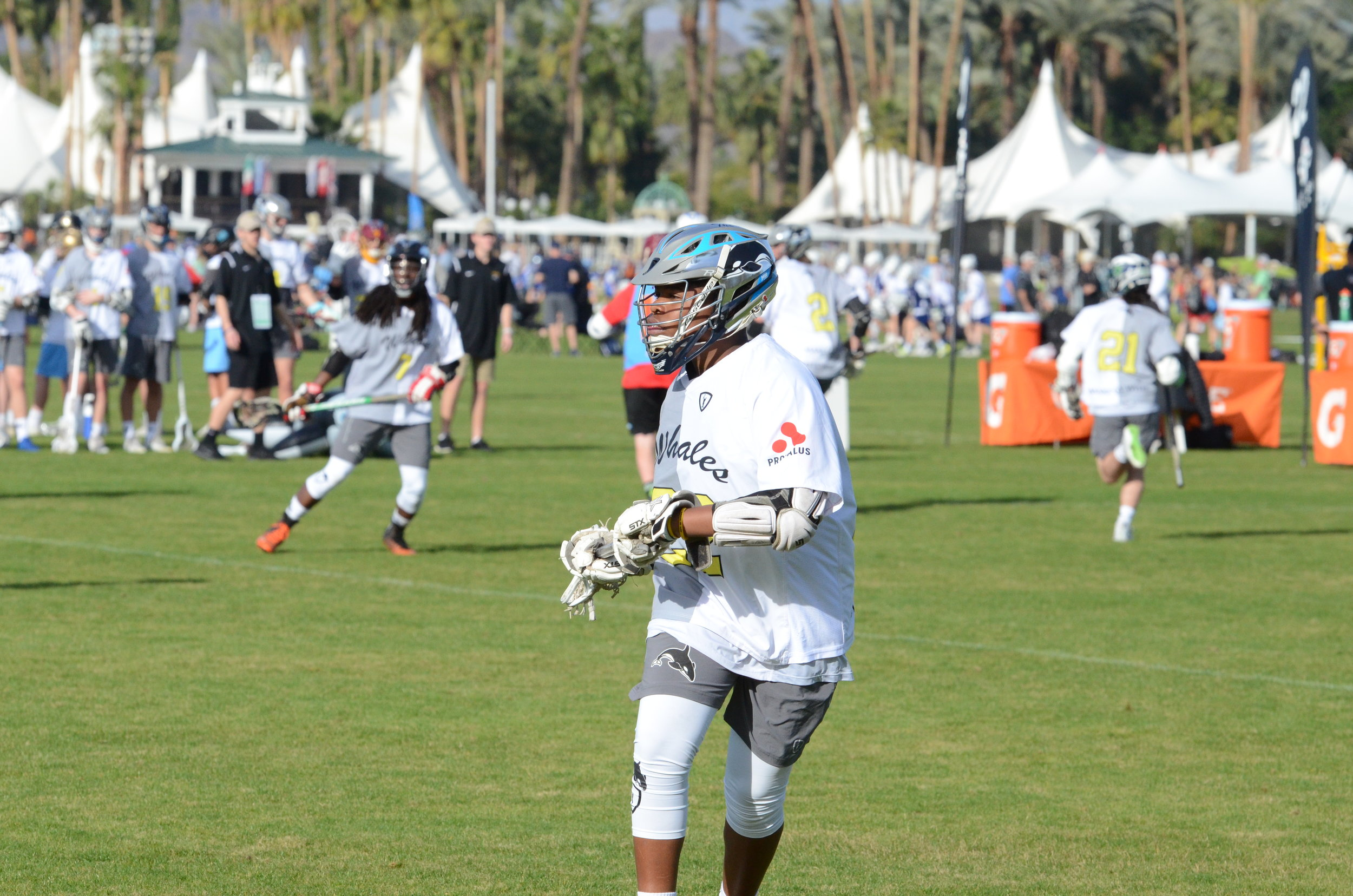 """""""Whales has managed to concentrate all of the great aspects of lacrosse & team sports such as camaraderie, unselfishness, and high level competition, while filtering out the bad. I can't say enough about the experience that my sons had playing with Whales.""""  - Derrick Clark, dad of players on Pods 10, 12 and 13"""