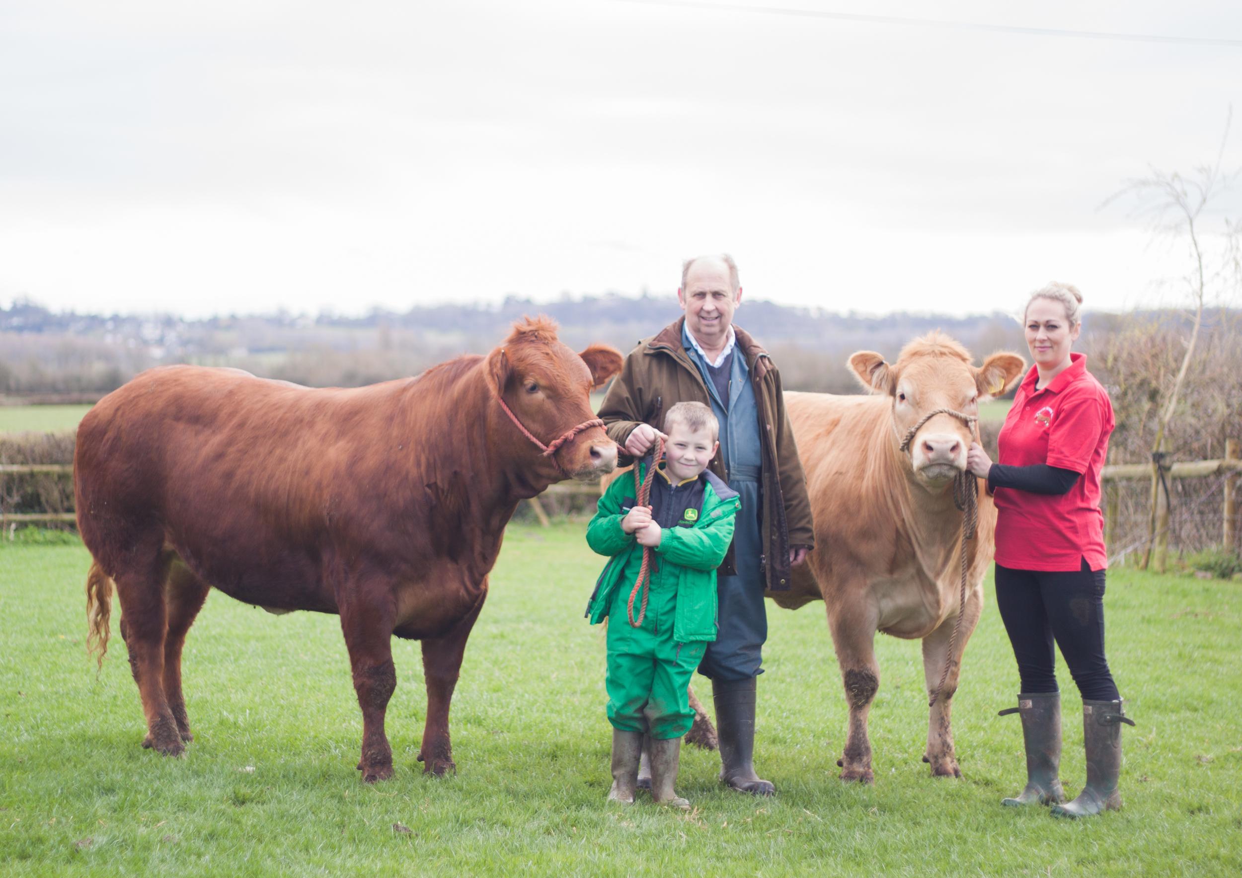 Darryl Cheacker - Ostbridge Manor Farm