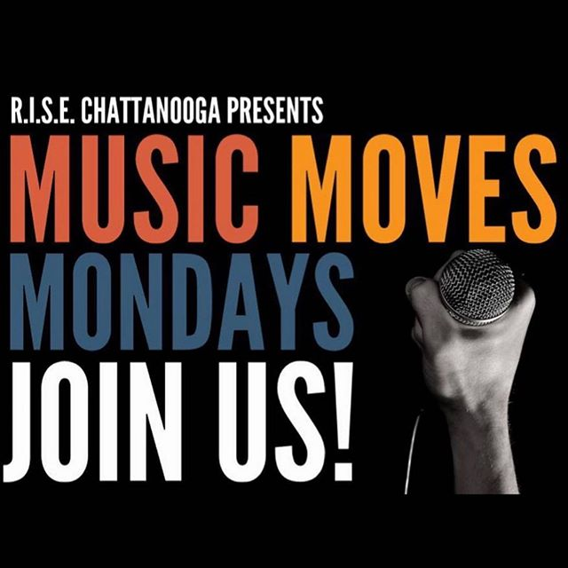 Repost via @rise_chattanooga: Chattanooga, ARE YOU READY?? SPREAD THE WORD!! We continue to form partnerships with local businesses and venues to provide creative platforms for our talented community. We are pleased to share that we have teamed up with Sing It or Wing It to present MUSIC MOVES MONDAYS!  Every last Monday for the next three months (May, June and July) we are looking for YOU to come and showcase your mic skills!! CROWD FAVORITES WILL HAVE AN OPPORTUNITY TO PERFORM AT OUR UPCOMING LEVITT MUSIC SERIES!! FREE APPETIZERS AND CASH BAR PROVIDED! Suggested Door Donation is only $10 and ALL of the proceeds go directly to our community programs and services!  Surprise Guest Hosts and giveaways! WE HOPE TO SEE YOU THERE!!! #togetherweRISE