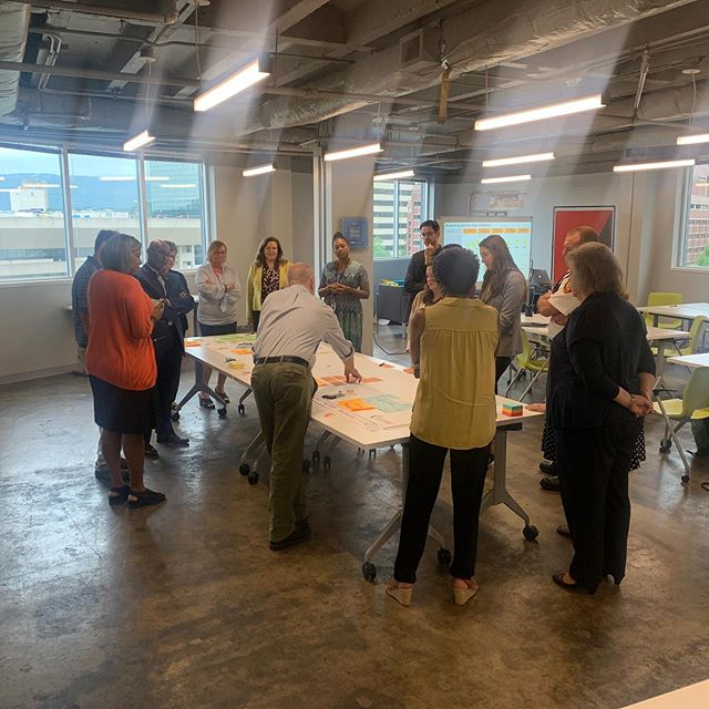 """Getting The Money Right."" The @CityofChattanooga's BFO Squad strategizing on #FloorFive #AtTheEdney 7/15/19"