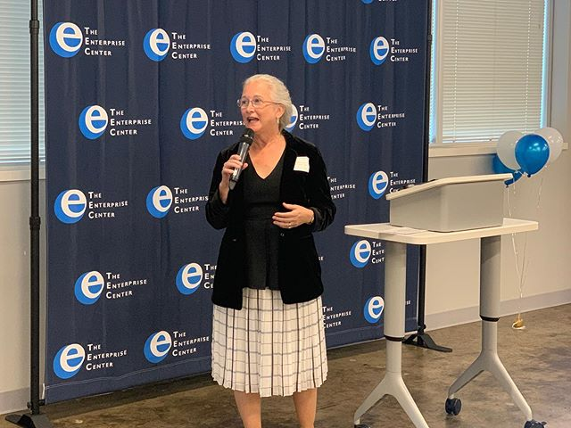 """Welcome To The World!"" The Enterprise Center recently held a Welcome Reception for their new President & CEO, Deb Socia, on Floor Five Tuesday July 23rd, 2019. The #WhosWho of #Chattanooga cane out to celebrate and congratulate her on this next chapter! Attendees included Mayor @andy_berke, Councilman @anthonybyrd_dte, State Representative District 28 Yusuf Hakeem, and a hosts of other new connections and old friends. Welcome to Chattanooga, and to The Edney, Deb! #CHA #TheEnterpriseCenterCHA #AtTheEdney #Innovation #Elevation #NextPhase #NewWave"