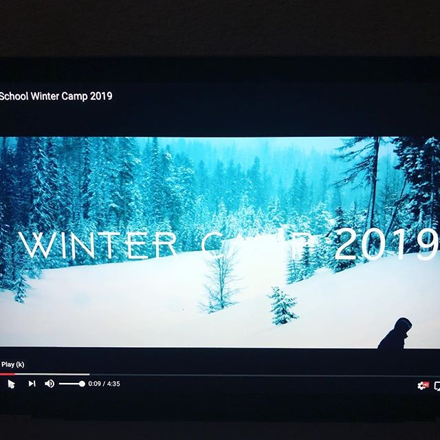 Link in Bio for Winter Camp Video