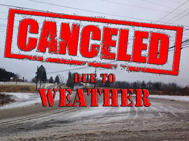 Trinity Youth PM has been cancelled tonight due to weather. Stay warm and safe and we will see you next week. #trinityw2