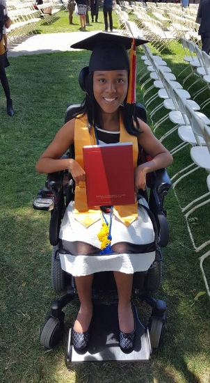 On June 13th, Janira graduated from LaGuardia Community College with Honors! Congratulations!!!