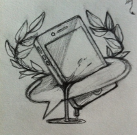First sketch of initial concept.