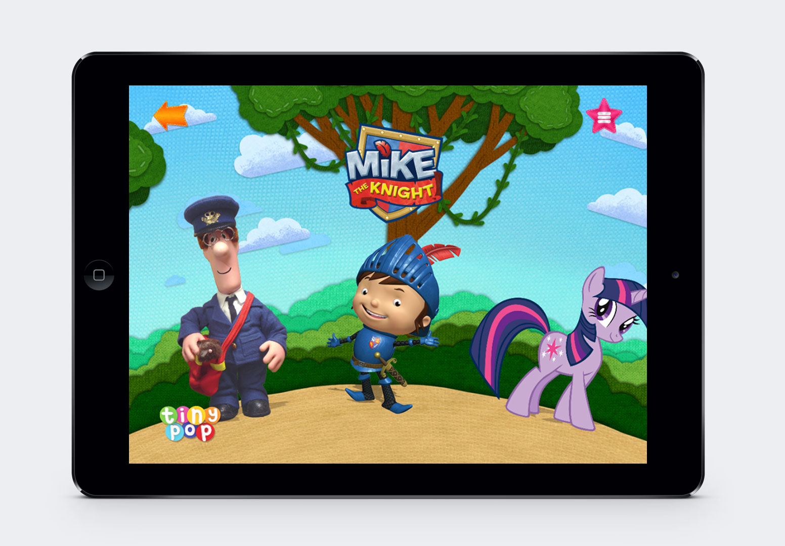 The Kids channel TINY POP (Freeview 126, Sky 617, Virgin 737, and Freesat 605) has announced the launch of a brand new content driven app available on iOS and Android. Free to download and free to play, it's available across tablet and mobile devices giving children and parents the chance to get closer to their favourite on-screen characters than ever before.