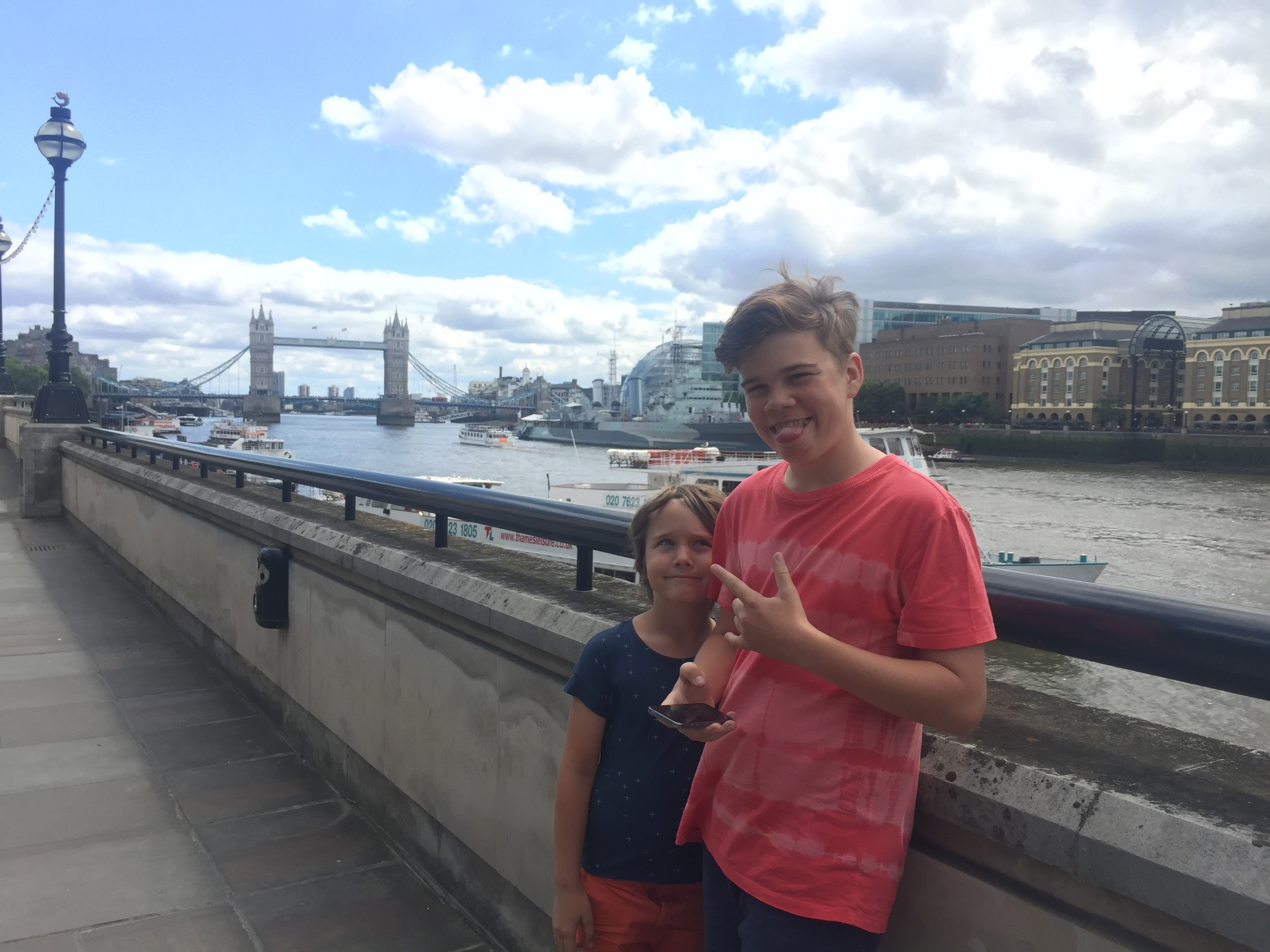 We were invited to take the family to visit the London Tower Bridge, to give the Trail app a try.  The Family Trail app is an app designed to complement your visit to the London Tower Bridge. It gives you an interactive experience allowing you a chance to explore the bridge and its workings in a unique and fun way. The app has an educational angle so you can learn lots of interesting facts and history about the bridge.