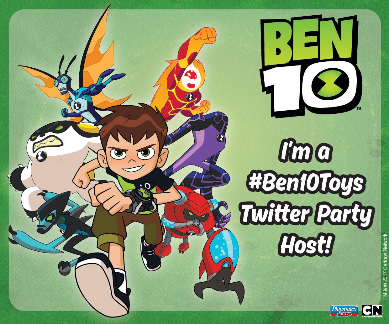 Ben 10 Twitter Party Blogger MPU