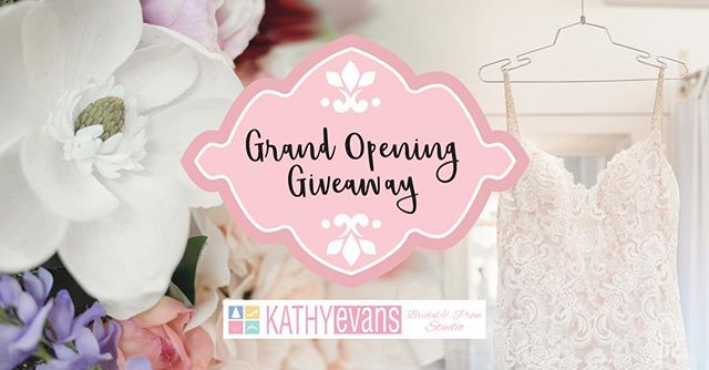 Kathy Evans Bridal and Prom Studio is coming to the West Coast!!! Come win $300 toward your dress at our Grand Opening.  When: Saturday, Sept. 22nd from 10-5:30 Where: 51 West St., Corner Brook  We can't wait to share our plans and beautiful space with you 😍