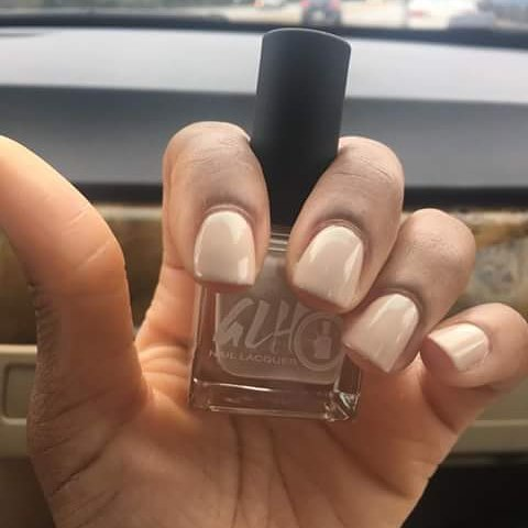 @tresbee_  thank you for sharing your lovely manicure! 💕💅 #naturalnails #vegan #veganlacquer #5free #nails #nails💅 #glhnaillacquer