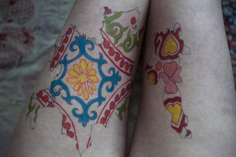 Kazakh Skin Drawing I