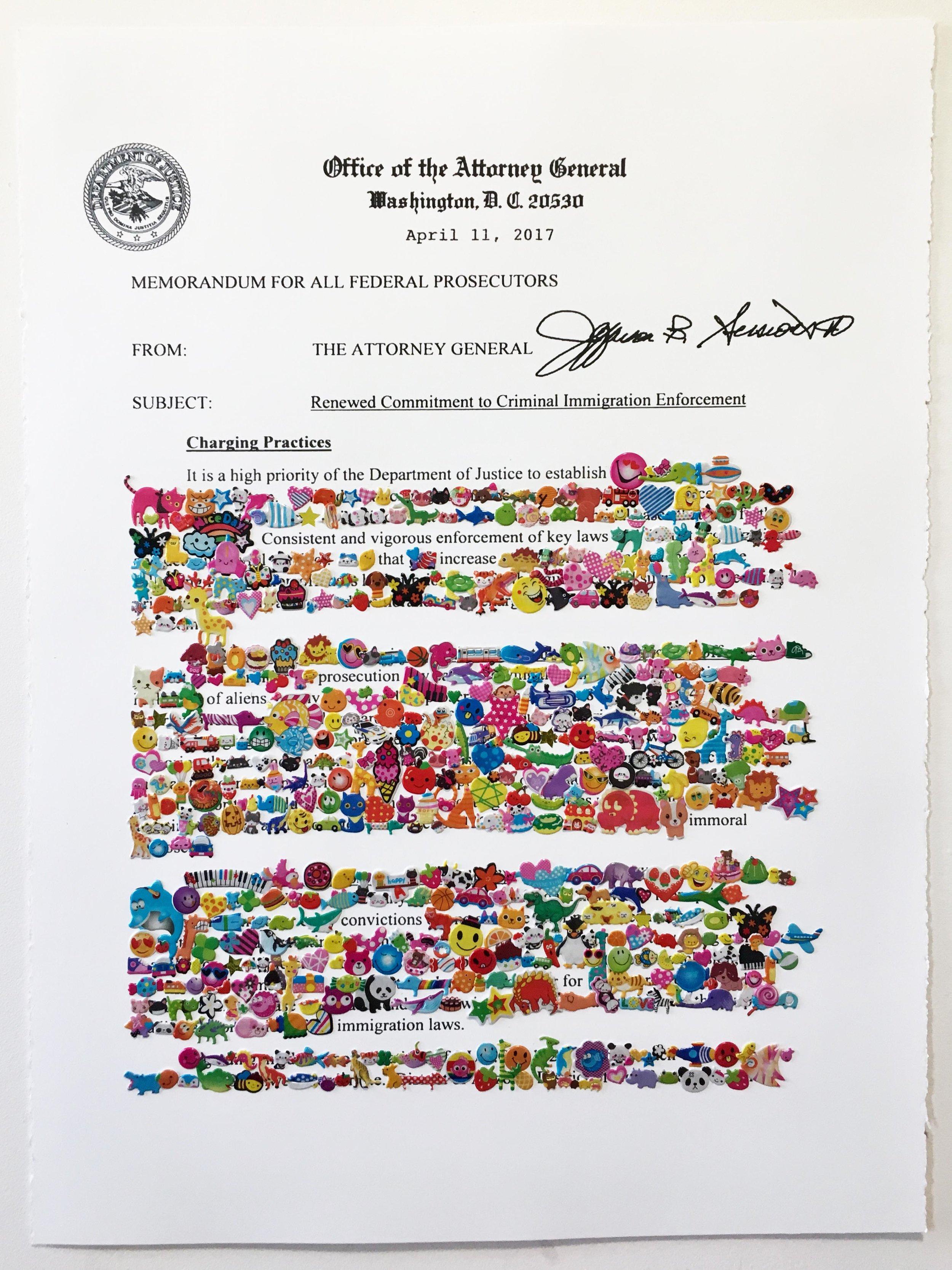 Redaction Memorandum