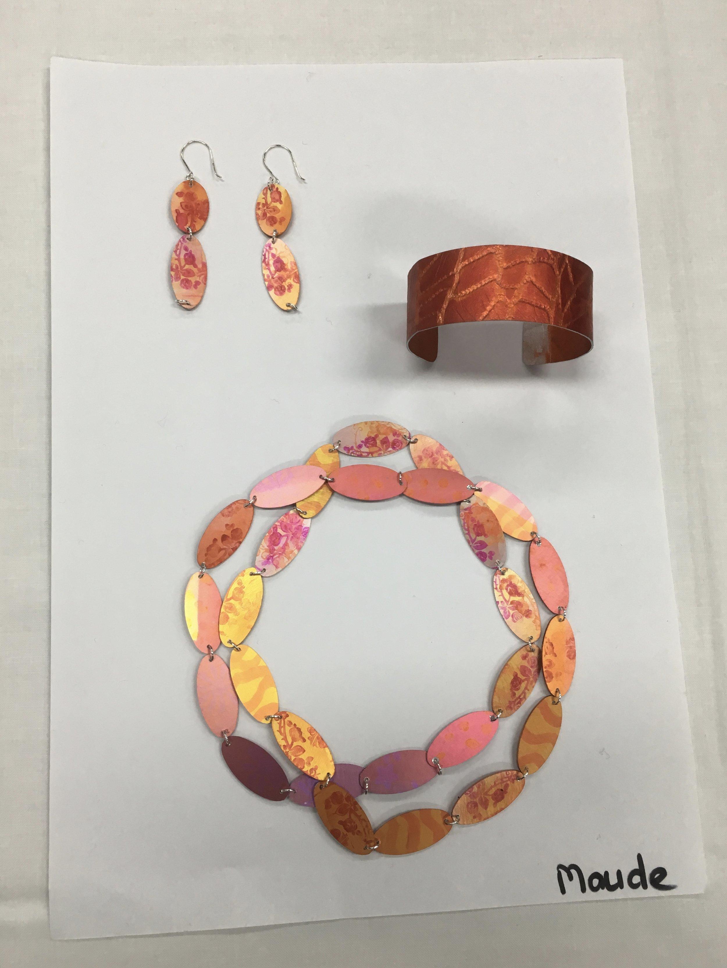 Work made in Meghan O'Rourke's Jewellery Workshop, Ballarat