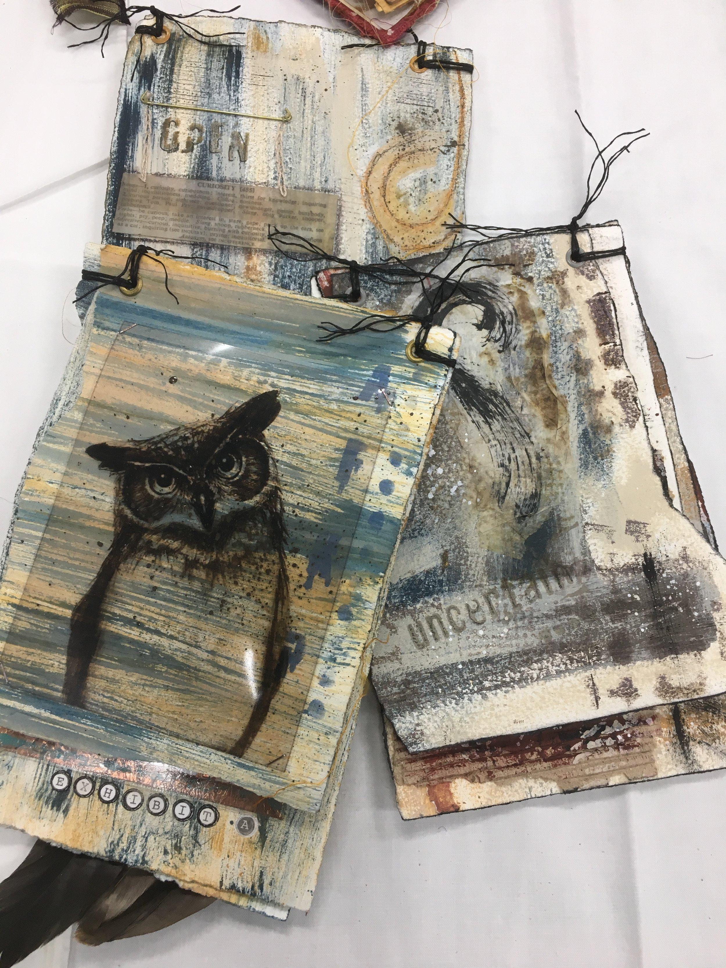Work made in Seth Apter's Book making Workshop, Ballarat