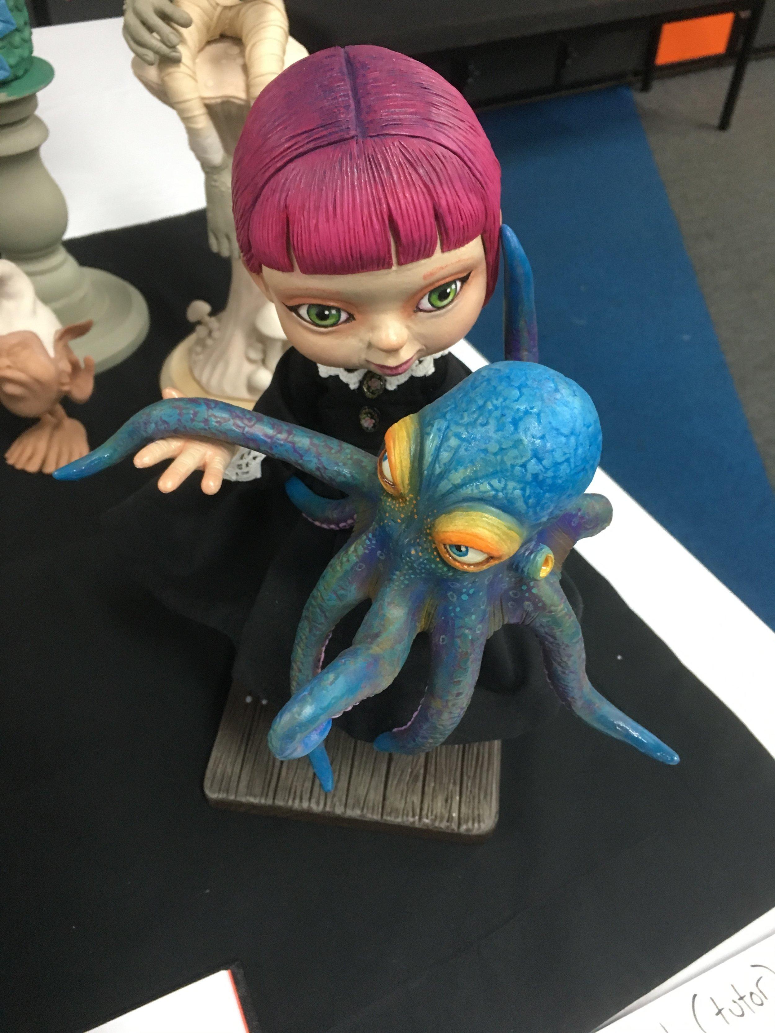 Lorell Lehman Fantasy Figures Workshop, Ballarat