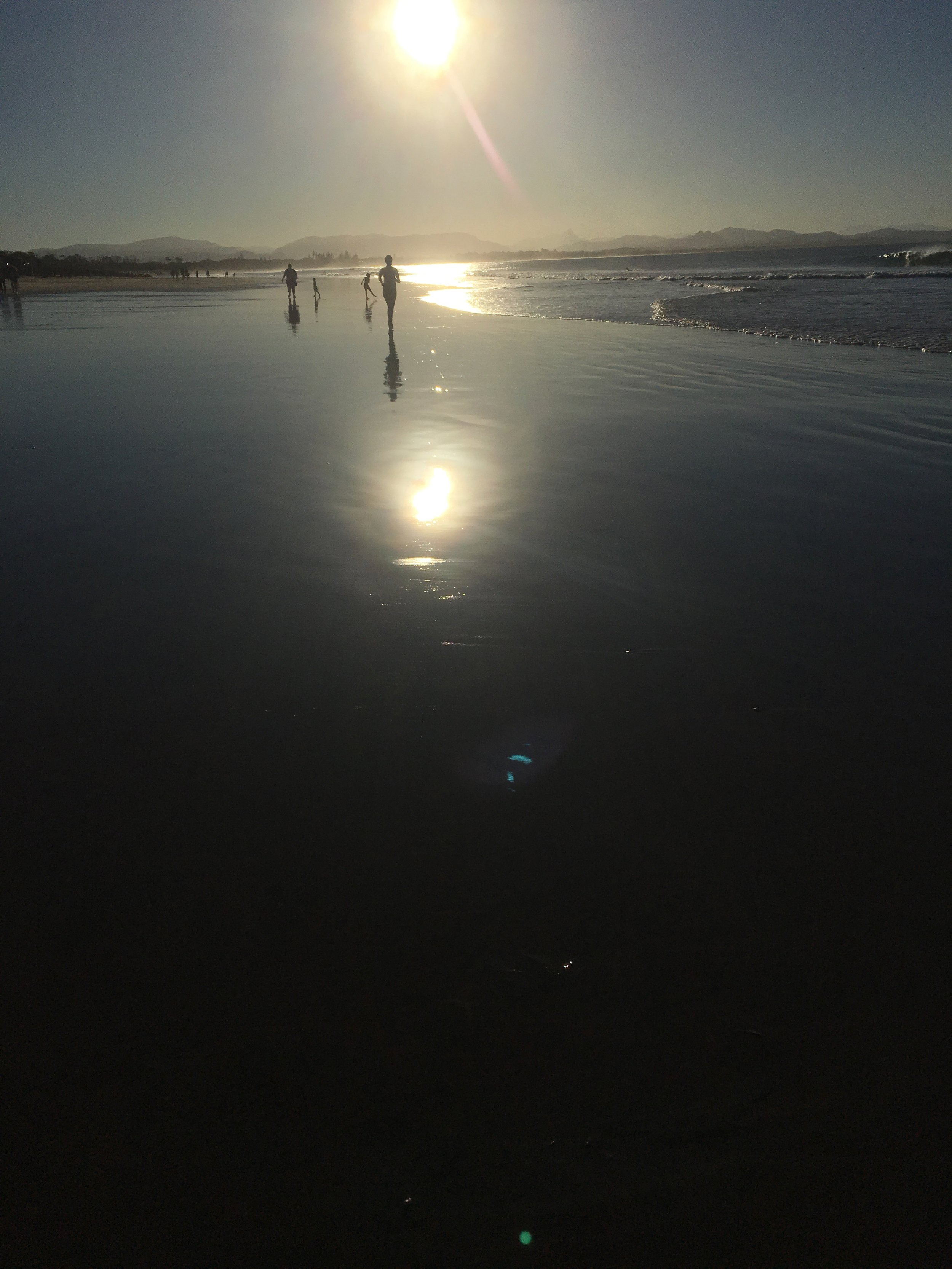 Saturday afternoon and some time off - got to visit Byron Bay, New South Wales - crazy to think this is winter