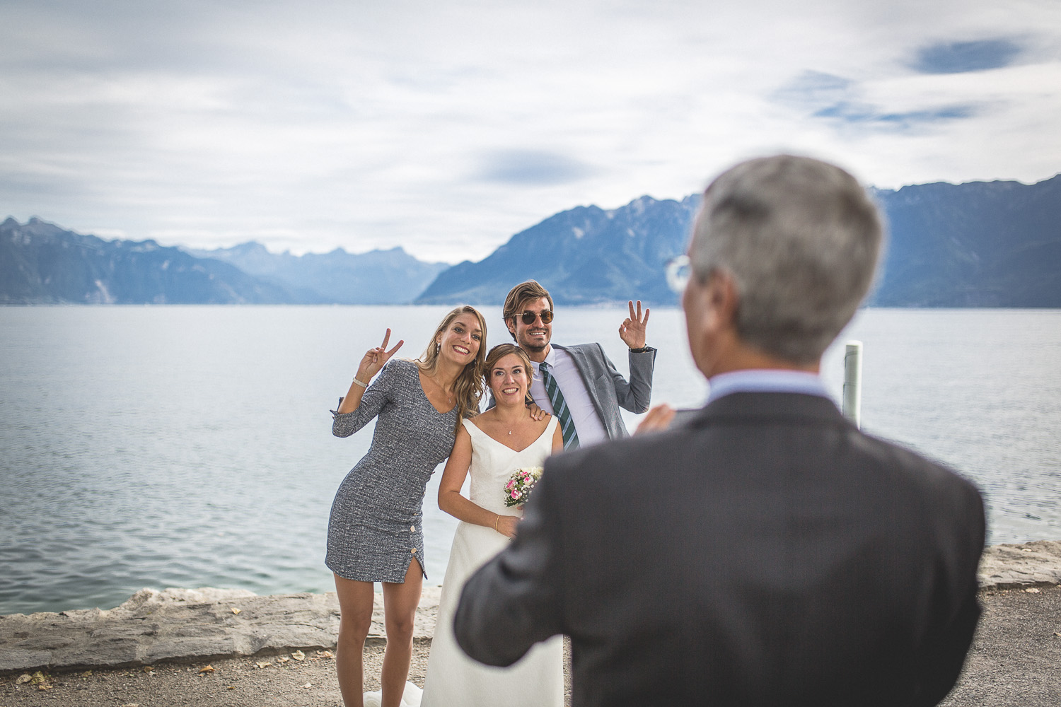 photo de groupe, Lutry, Vaud, Photographe mariage Lausanne