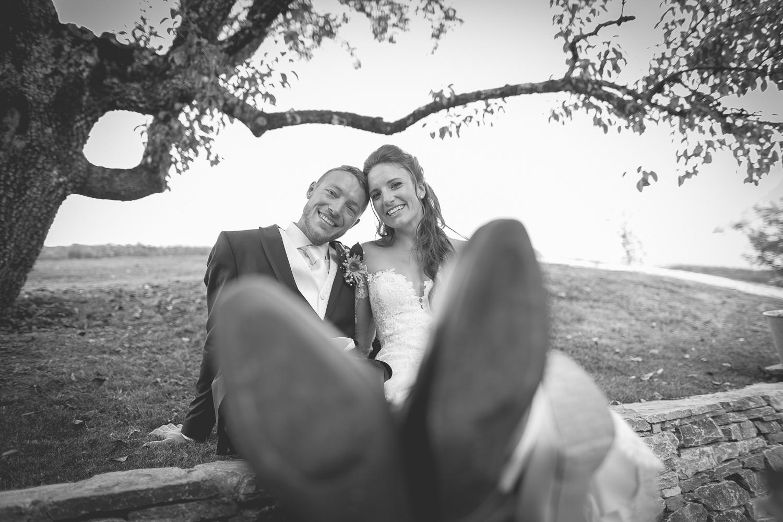 Portrait des jeunes mariés