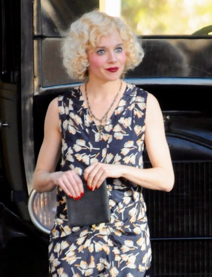 Sienna Miller in 'Live by Night'.  Nice lady, talented actress. We made  'Foxcatcher'  together in 2012 for Bennett Miller.