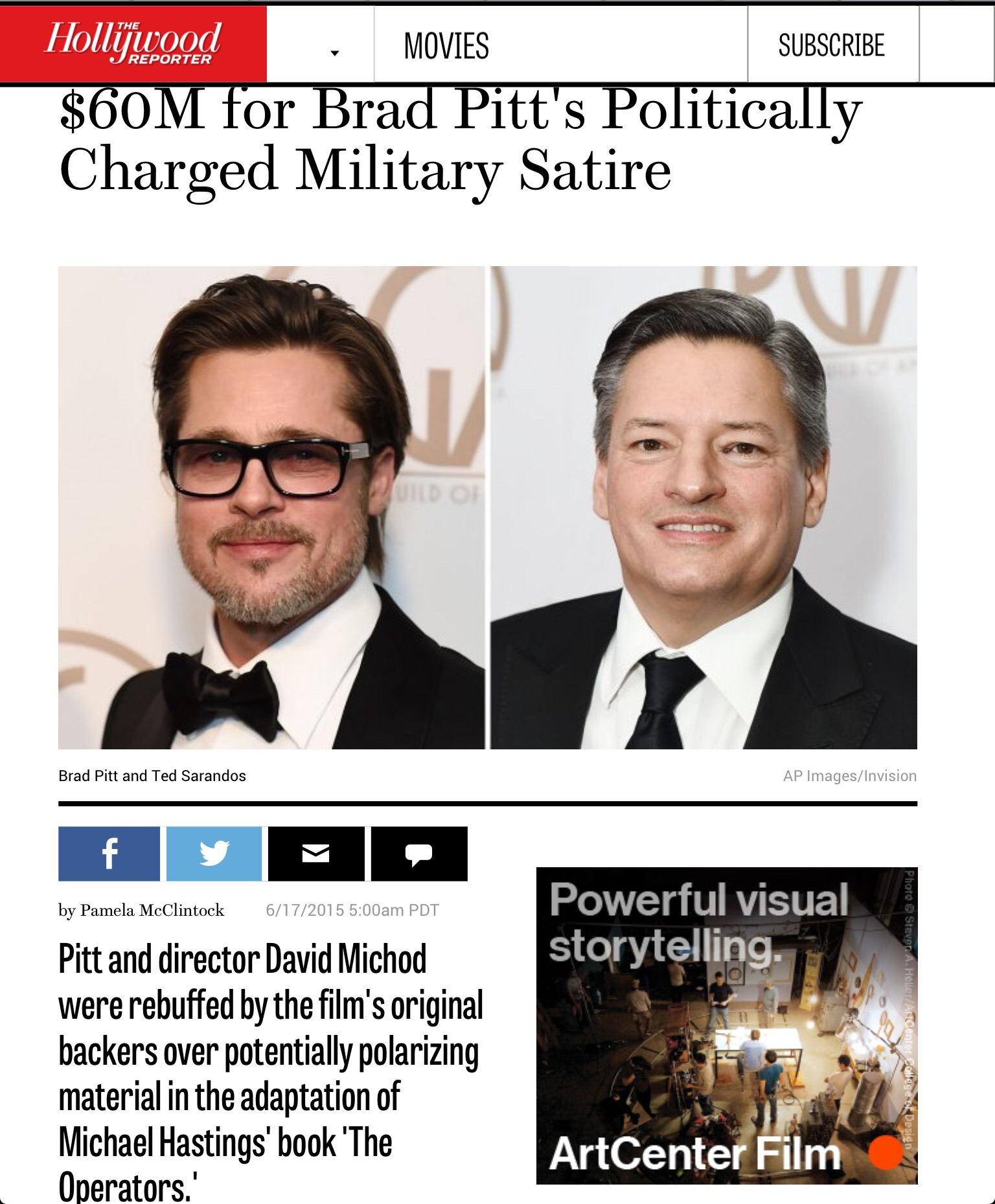 The Hollywood Reporter.