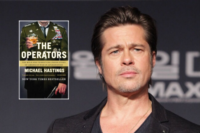 'The Operators' was optioned by Mr. Pitts' comapny, Plan B (' 12 years a slave' and 'Selma'). The films producers are Brad Pitt, Dede Gardner and Jeremy Kleiner.   The book was adapted for the screen and directed by David Michod.   'WAR MACHINE' directed by David Michod,  a NETFLIX original film.